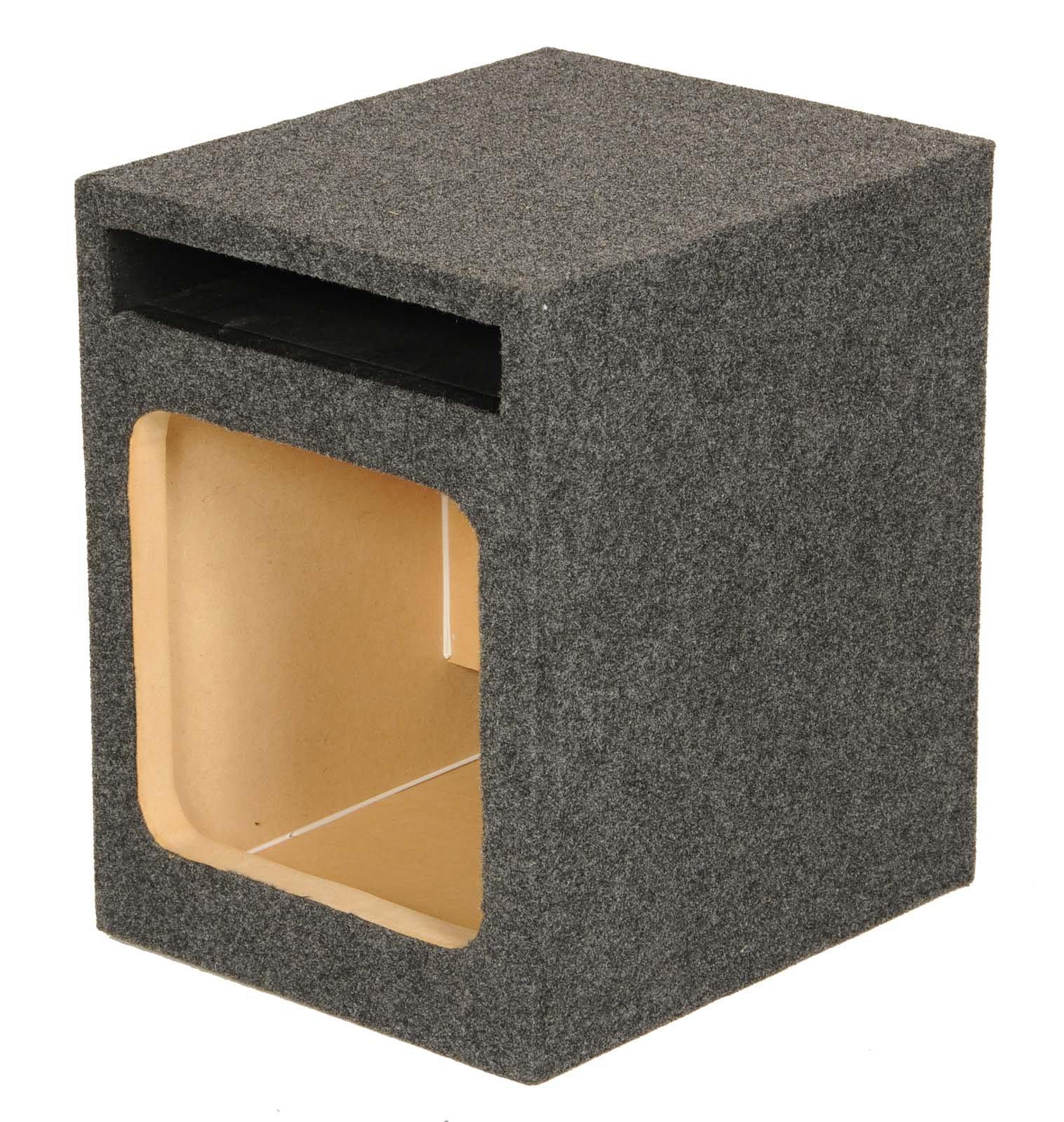 Q Power HD110 VENT SQ 10'' Square Vented Box
