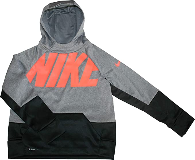 Nike Youth Boys Therma Training Hoodie Athletic Pullover