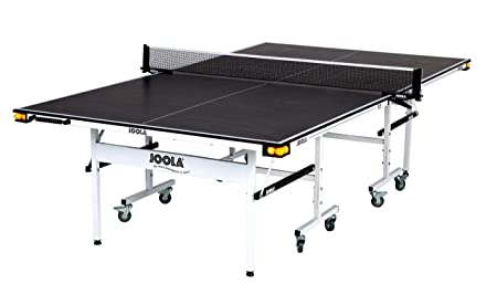 JOOLA Rally TL Professional Grade Table Tennis Table with Net Set, Ball Holders and Abacus Scorer