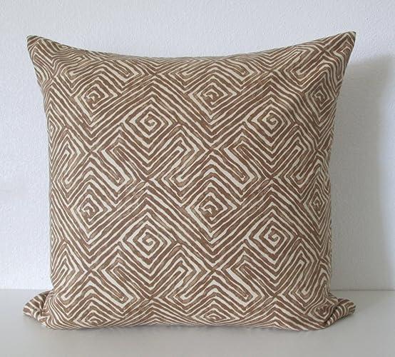 Amazon Nate Berkus Patras Havana Brown Global Ethnic Decorative Amazing Nate Berkus Decorative Pillows