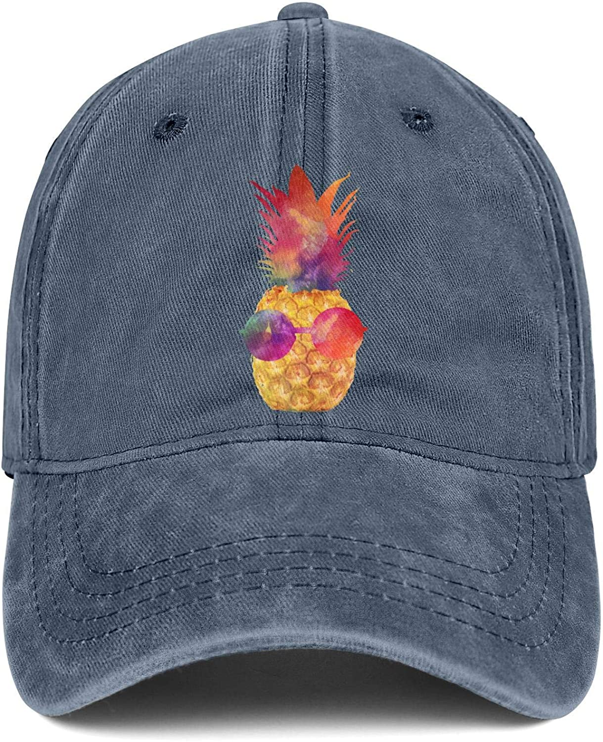Be a Pineapple Wear Crown Unisex Baseball Cap Breathable Sun Hats Adjustable Trucker Caps Dad-Hat