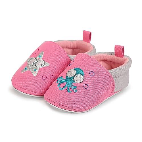Sterntaler Baby-krabbelschuh - Zapatillas de casa Bebé-Niñas: Amazon.es: Zapatos y complementos