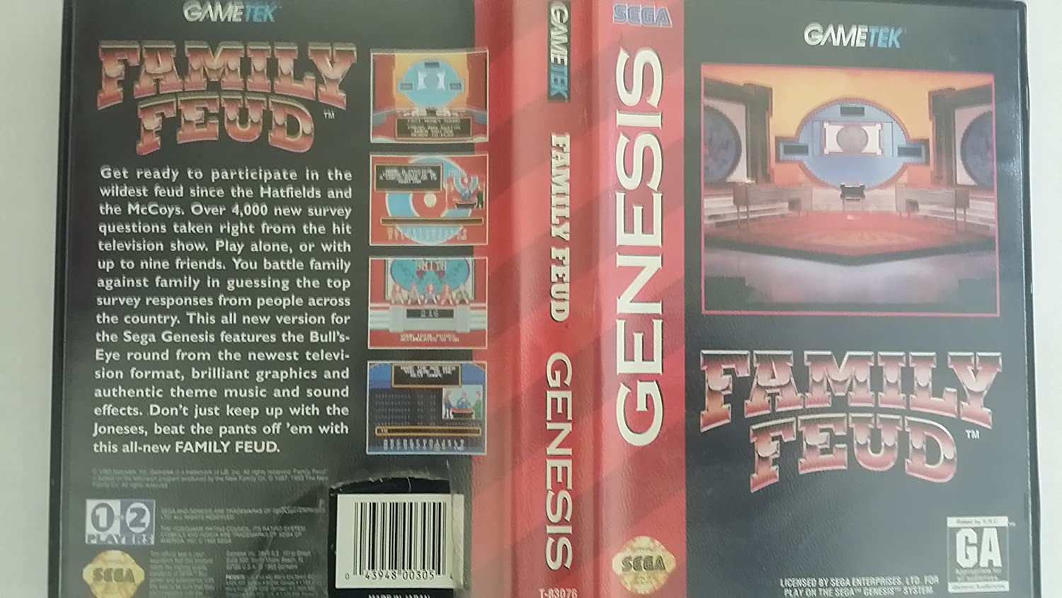Amazon com: Family Feud - Sega Genesis: Video Games