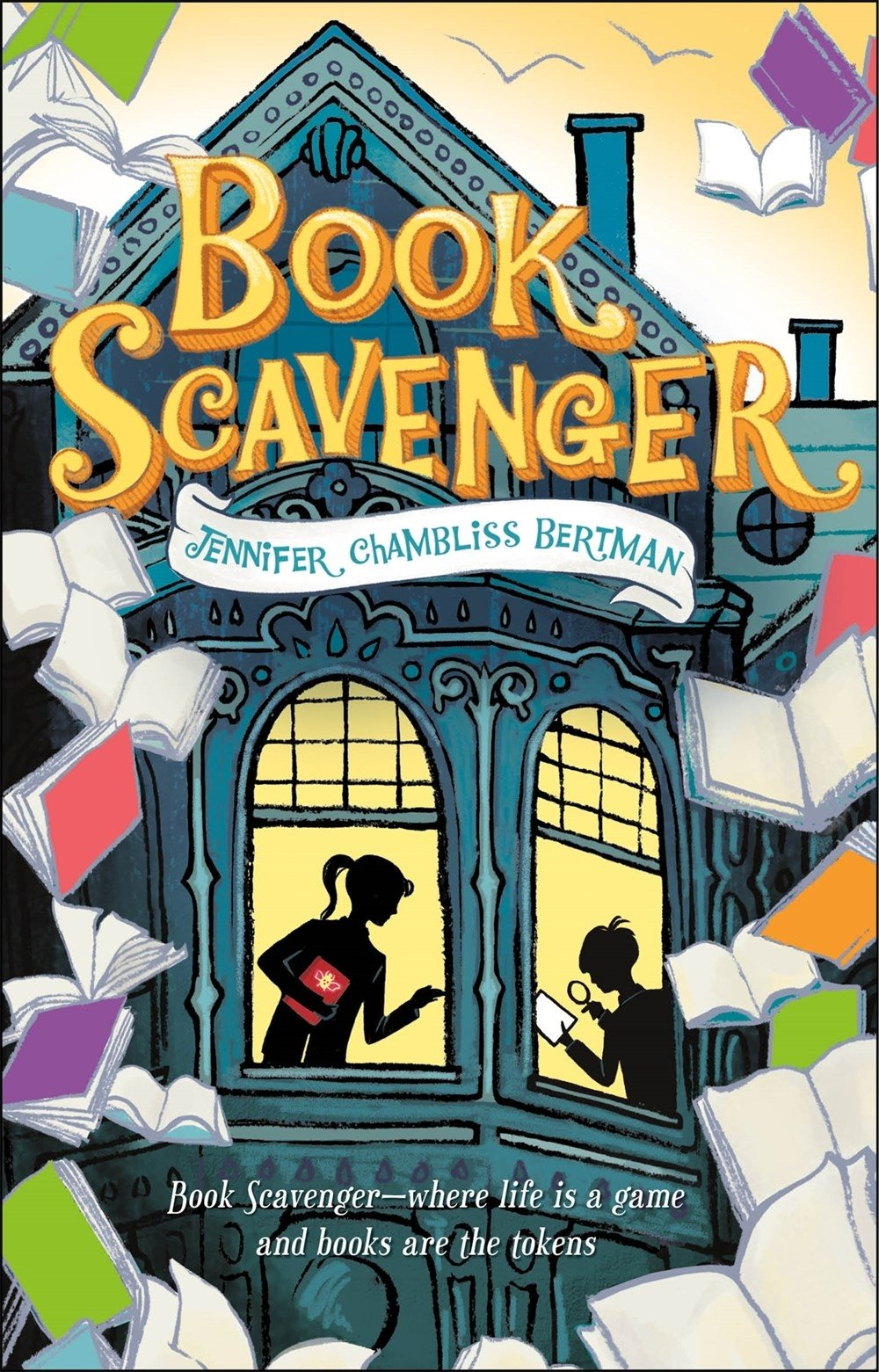 Book scavenger the book scavenger series jennifer chambliss book scavenger the book scavenger series jennifer chambliss bertman 9781250079800 amazon books fandeluxe Gallery