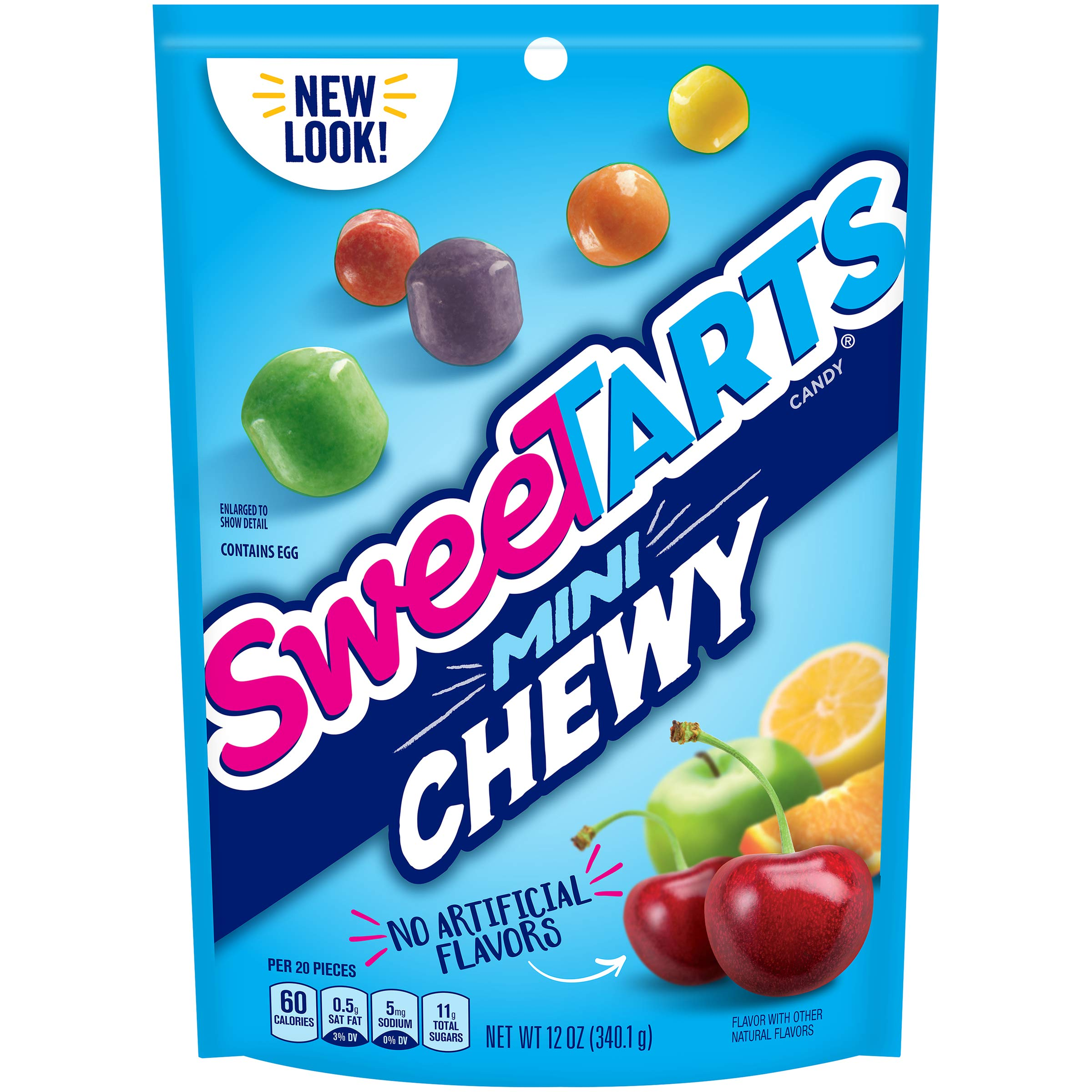 Nestle Mini Chewy Sweetarts 12 ounces (Pack of 8) by SweeTARTS