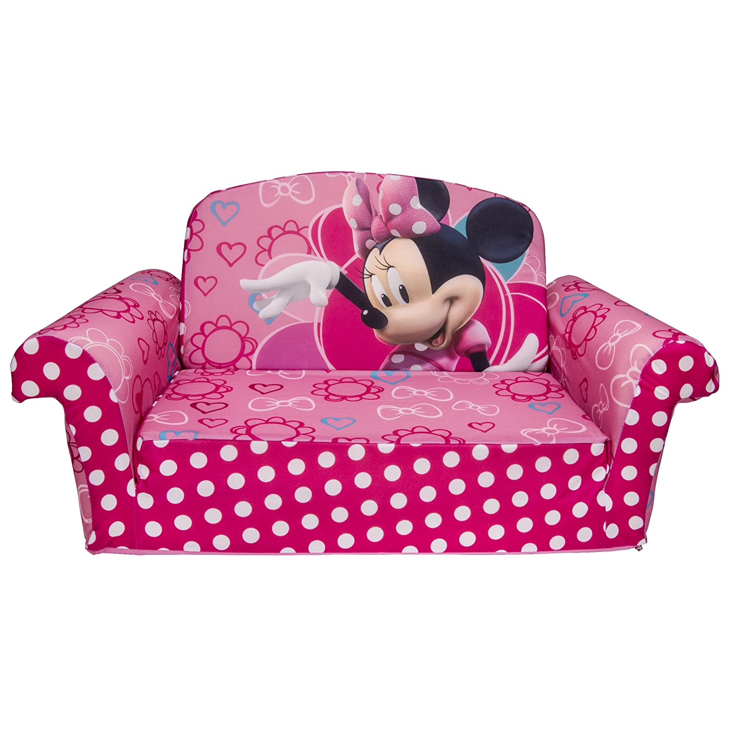 Marshmallow Childrens Furniture 2 in 1 Flip Open Sofa Disneys