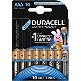 Duracell Ultra Power Typ AAA Alkaline Batterien, 16er Pack
