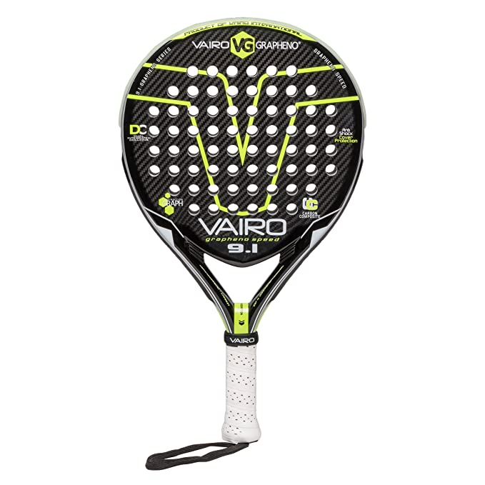 VAIRO Raqueta de Padel GRAPHENO Speed 9.1: Amazon.es: Deportes y ...