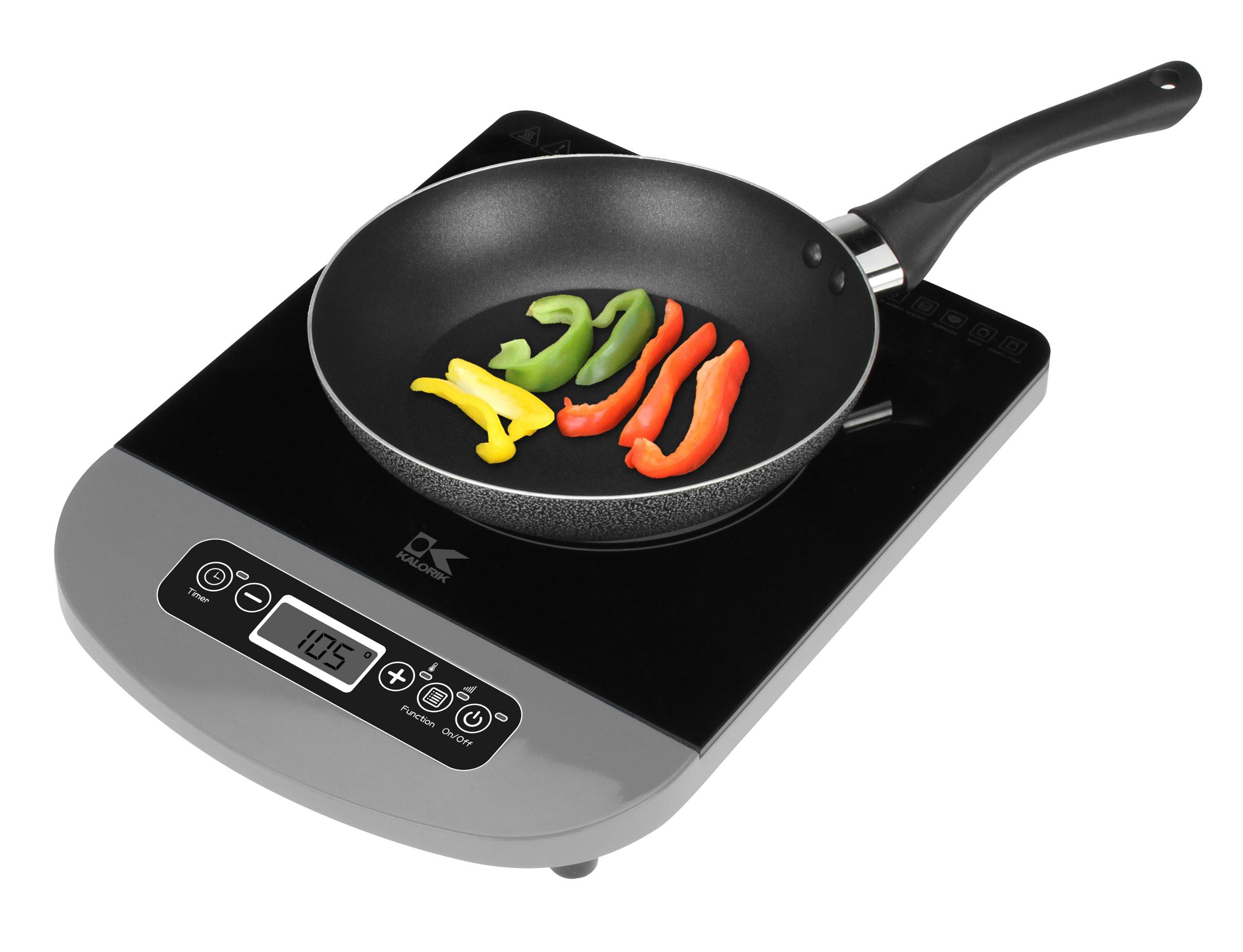 Kalorik IKP 40625 S Induction Cooking Plate, Silver