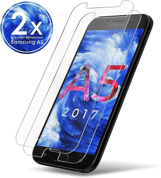 UTECTION 2X Protector de Pantalla para Samsung Galaxy A5: Amazon.es: Electrónica