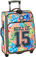Nicole Lee 20 Inch Crickled Nylon Carry-On