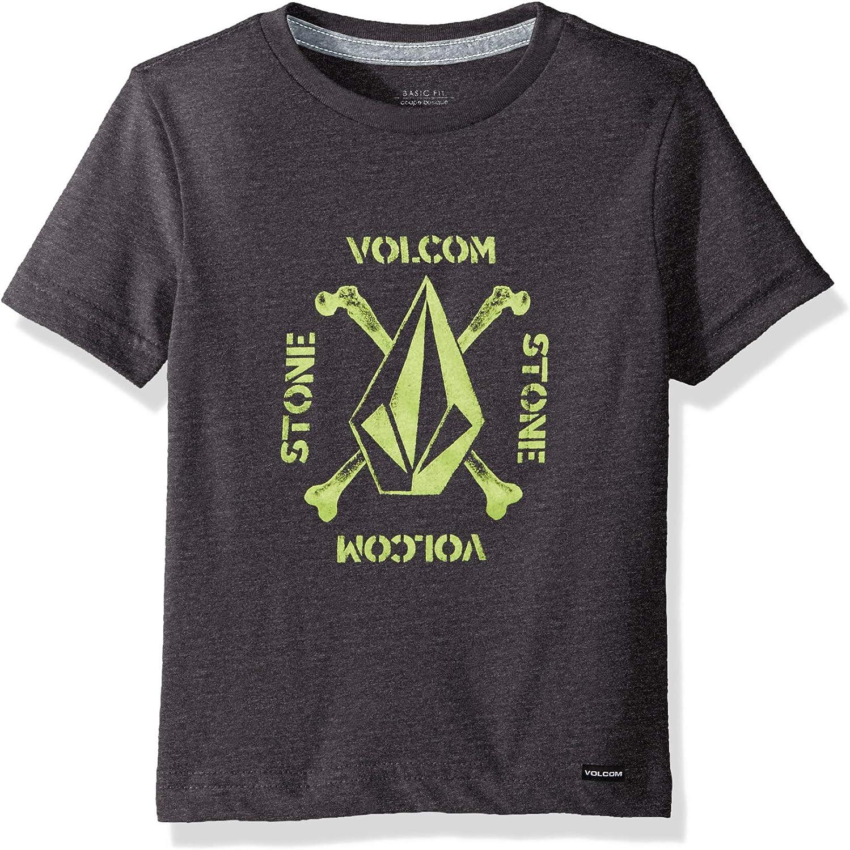 Volcom Little Boys Mutiny Stone Modern Fit Short Sleeve Tee