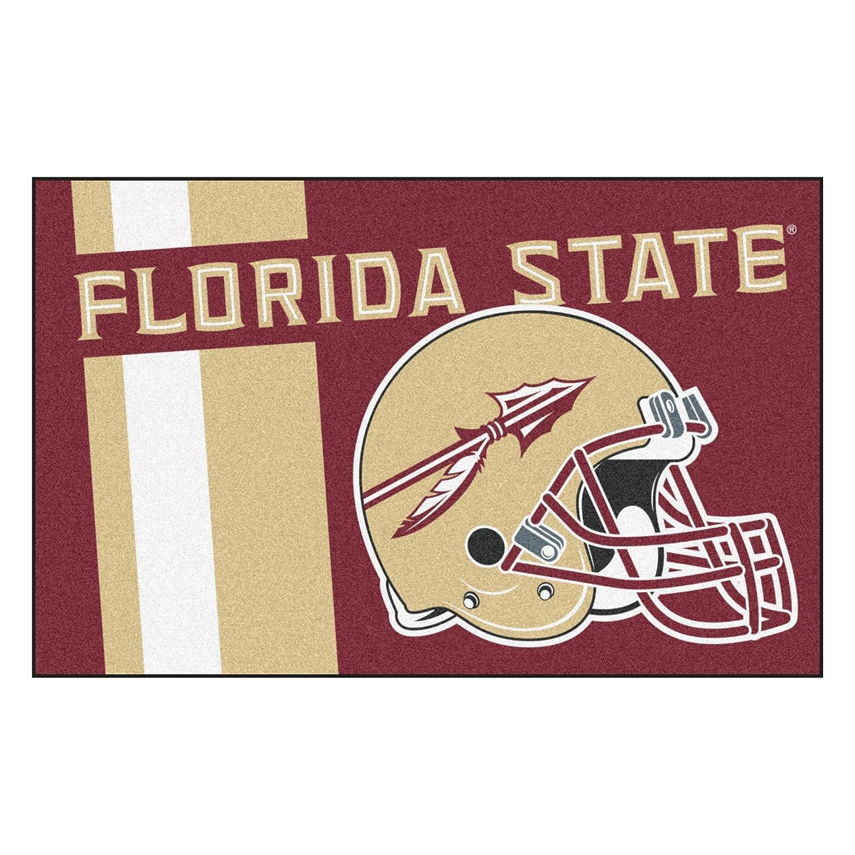 FANMATS 18739 Florida State Uniform Inspired Starter Rug