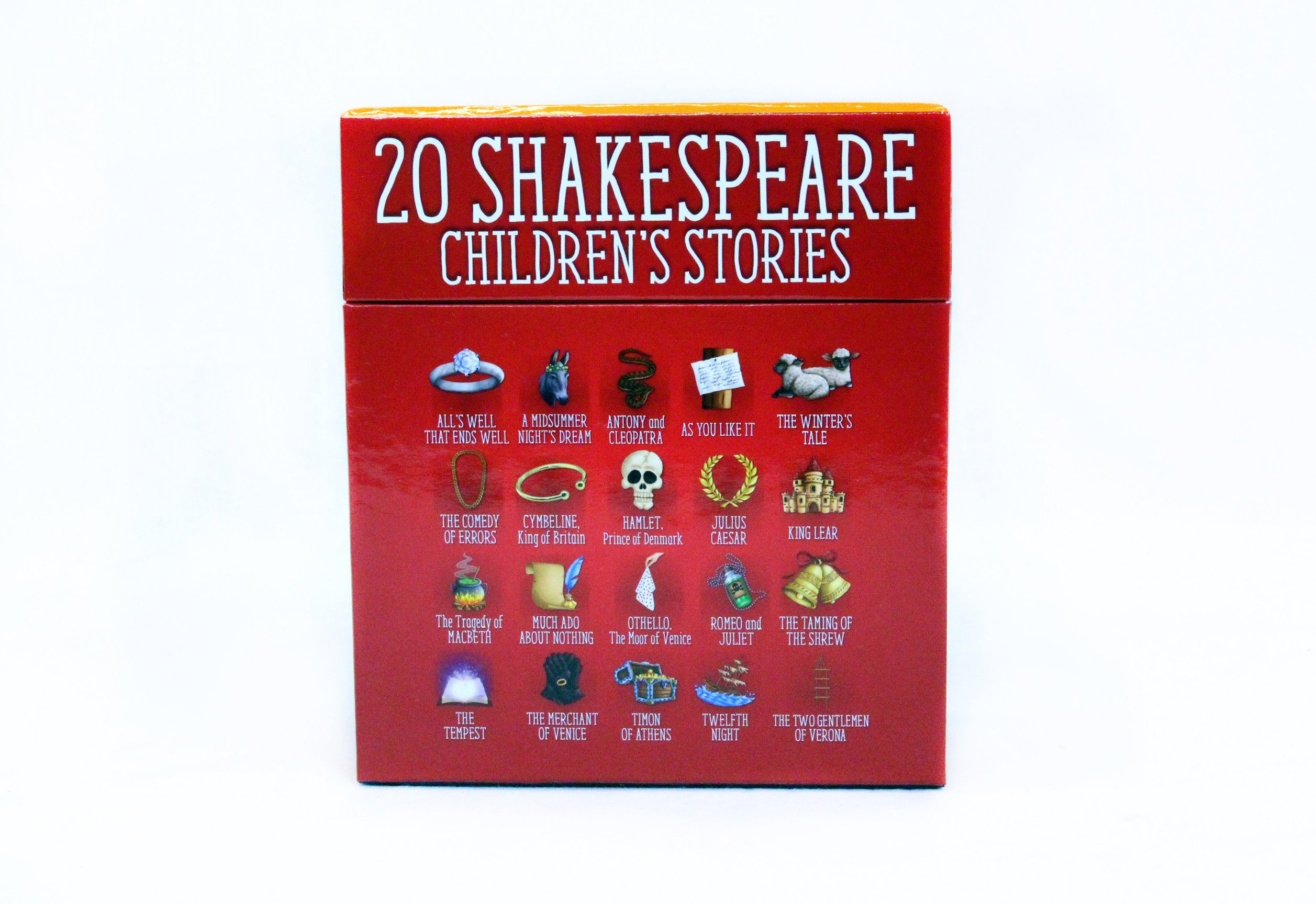 Amazon: Twenty Shakespeare Children's Stories  Theplete Audio  Collection (a Shakespeare Children's Story) (9781782262336): Macaw Books:  Books
