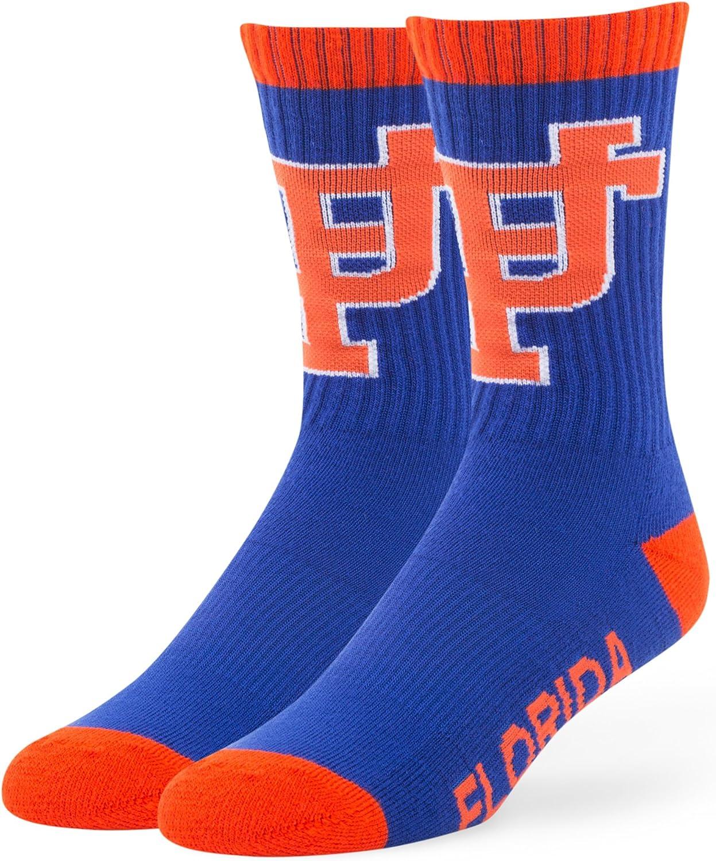 1-Pack NCAA Mens 47 Bolt Casual Dress Crew Socks