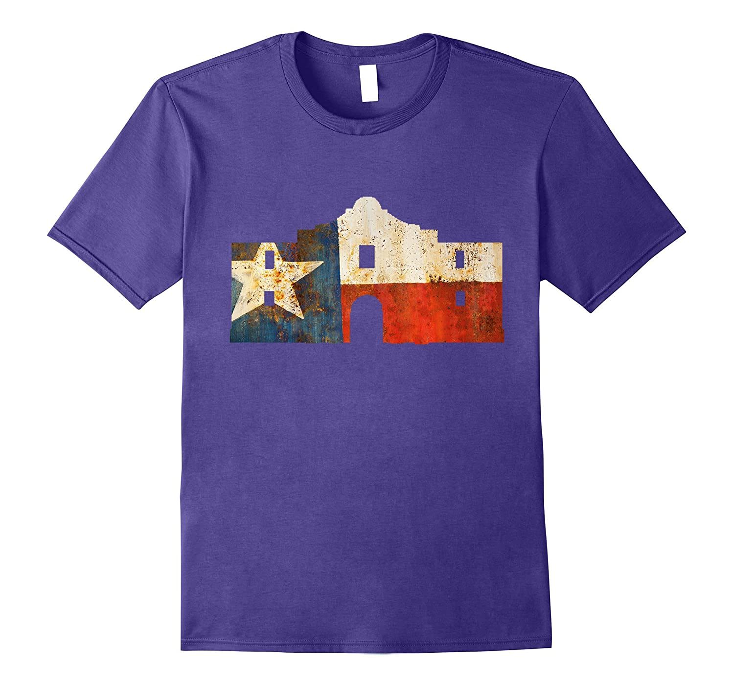 Texas Flag Alamo Mission Pride Shirt-TH