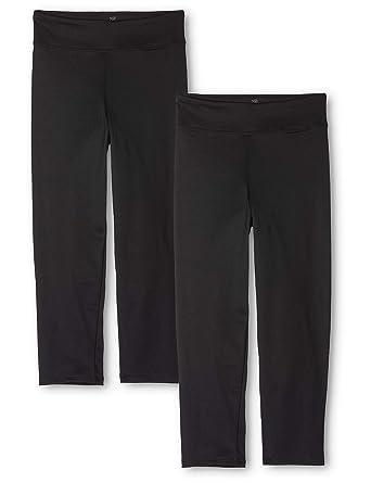 9a04b5075c3ab AURIQUE Women's Capri Sports Leggings, Pack of 2: Amazon.co.uk: Clothing