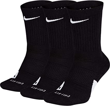 NIKE Elite Basketball Crew Socks 3 Pack