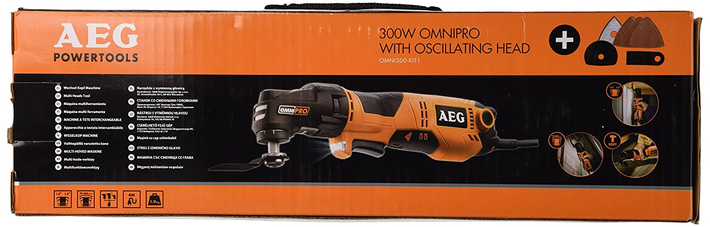 AEG 4935431790 Omni 300 Kit 1 Machine /à t/ête interchangeable 300 W