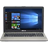 2018 Asus VivoBook Max 15.6 inch HD Flagship High Performance Laptop PC | Intel Pentium N4200 Quad-Core | 4GB RAM | 500GB HDD | Bang & Olufsen Audio | USB Type-C | DVD +/-RW | Windows 10
