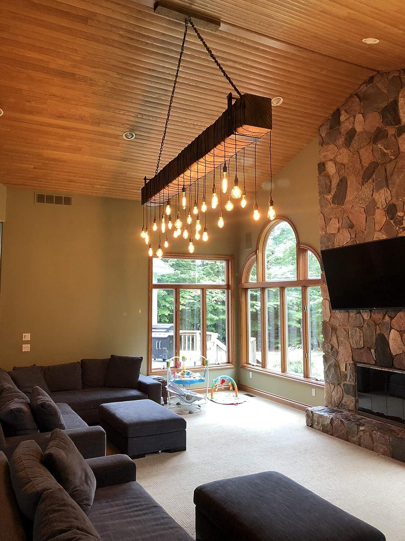 Amazon com log cabin lighting rustic cabin lighting industrial