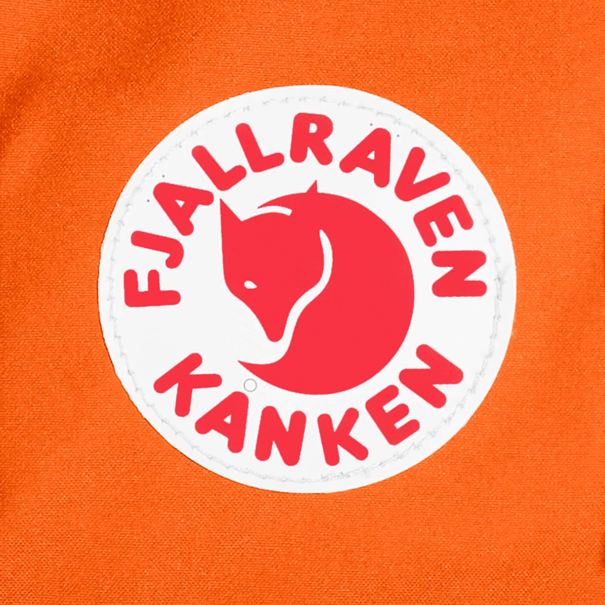 Fjallraven - Kanken Classic Backpack for Everyday, Burnt Orange/Deep Red by Fjallraven (Image #8)