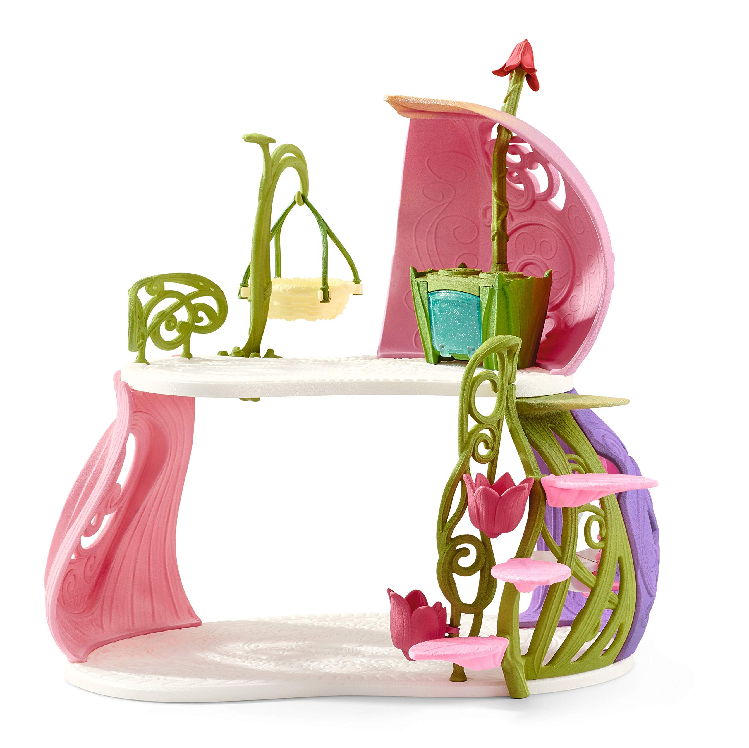 Schleich Glittering Flower House with Unicorns, Lake and Stable, Multicolor by Schleich (Image #7)