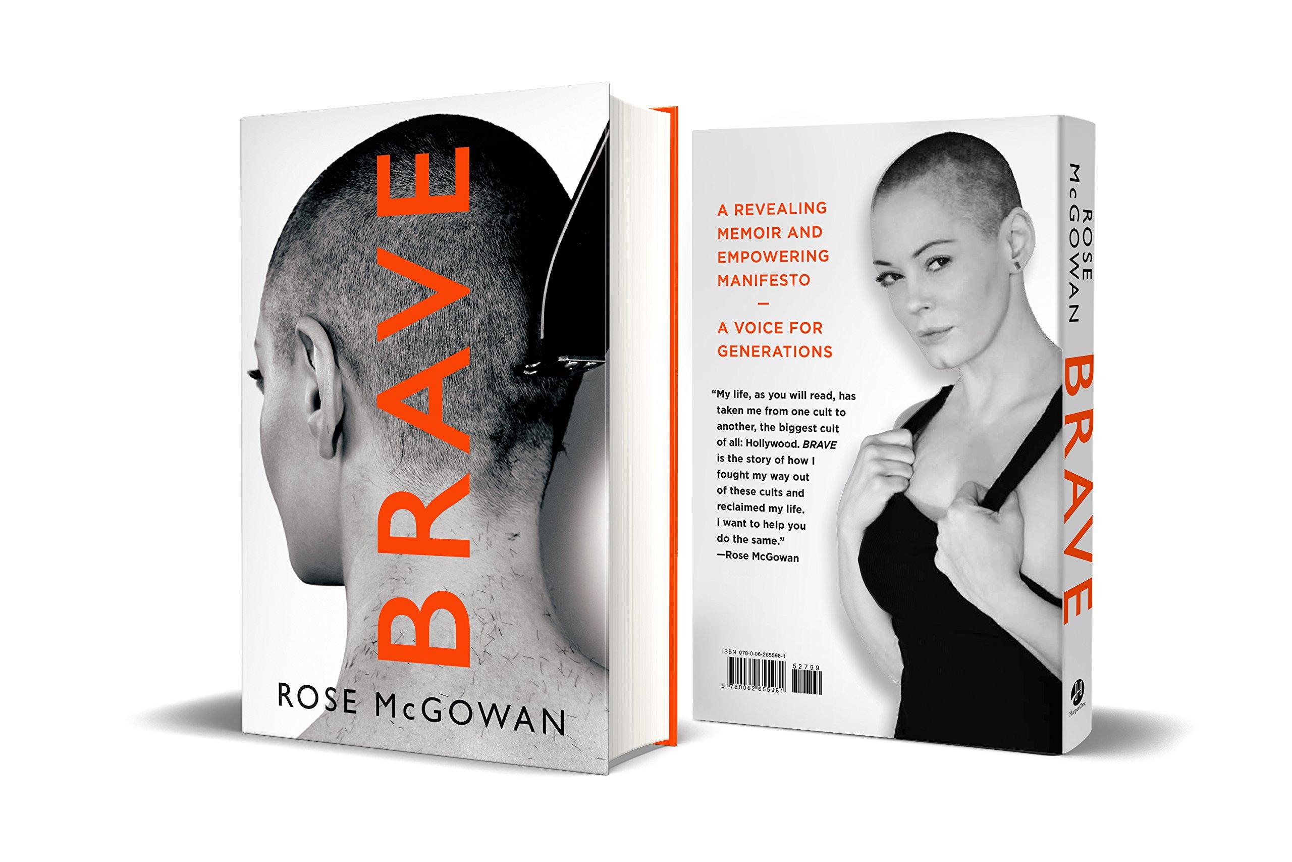 Portada y contraportada libro Brave
