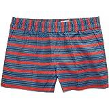 """J Crew Factory Women's - 3"""" Striped Boardwalk Pull-On Shorts"""