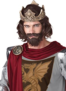 California Costumes Medieval King Wig