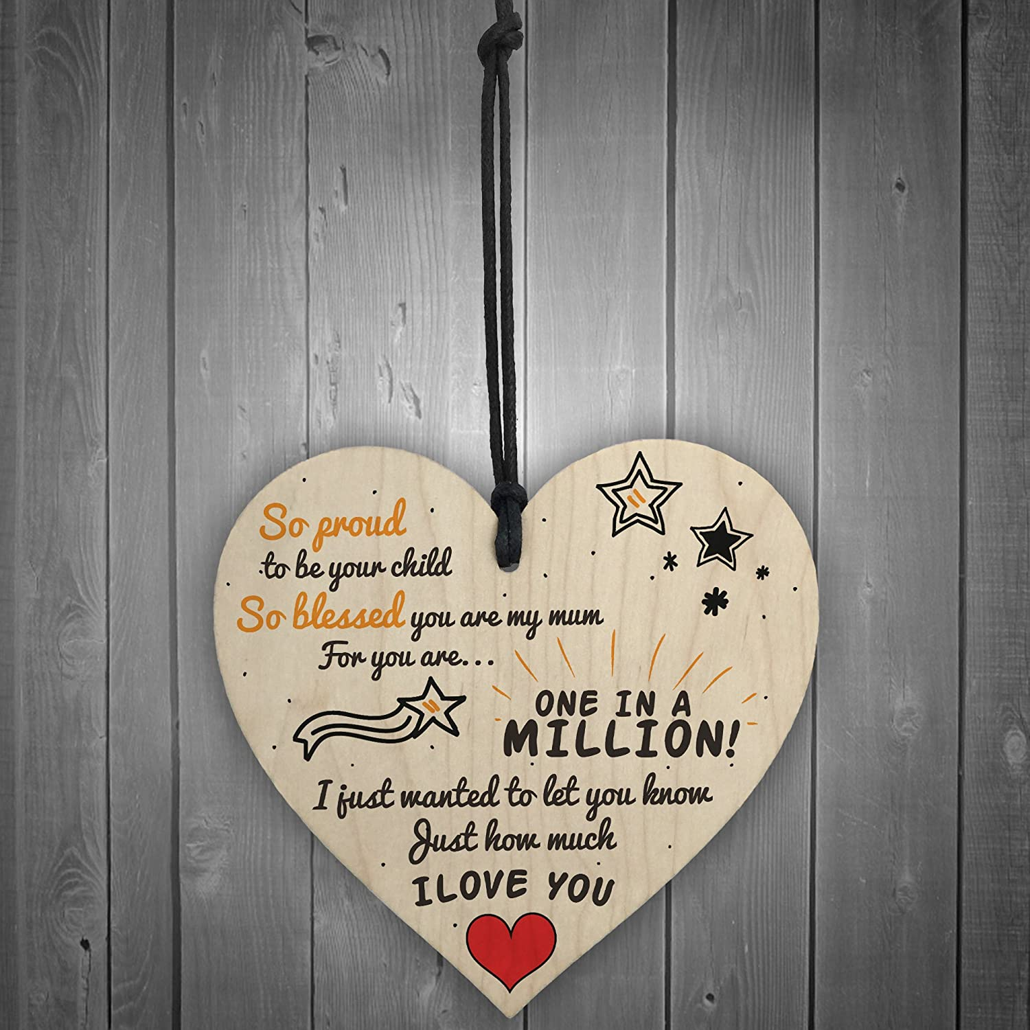 Mother/'s Day All Occasions Plaques Sign Heart Wall Hanging