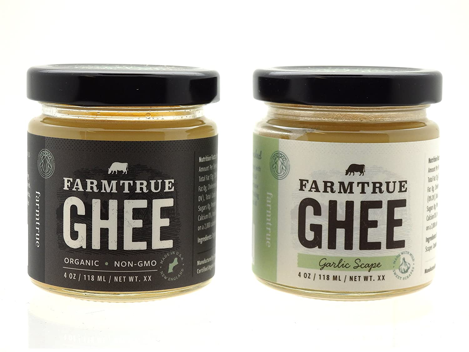 55126a3e62c1 Amazon.com   Ghee - Traditional and Garlic Scape - Gift Packaged   Grocery    Gourmet Food