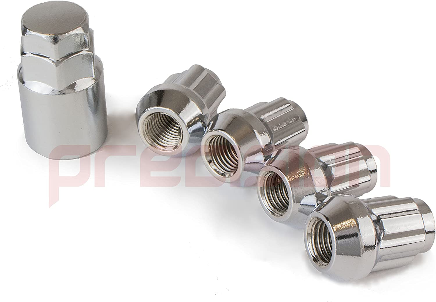 Precision Chrome Locking Nuts for Ĵaguar XJ with Aftermarket Alloy Wheels Part No.N10167