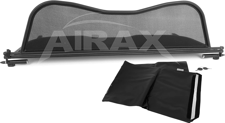 Airax Windschott f/ür Megane CC Windabweiser Windscherm Windstop Wind deflector d/éflecteur de vent