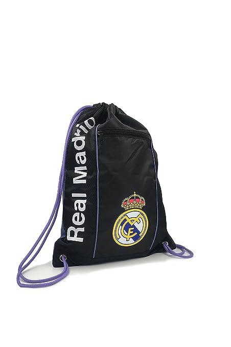 Saco Negro 2017 Cinch Visitante Madrid Equipo Real Oficial Bolsa wpn6AqCPx