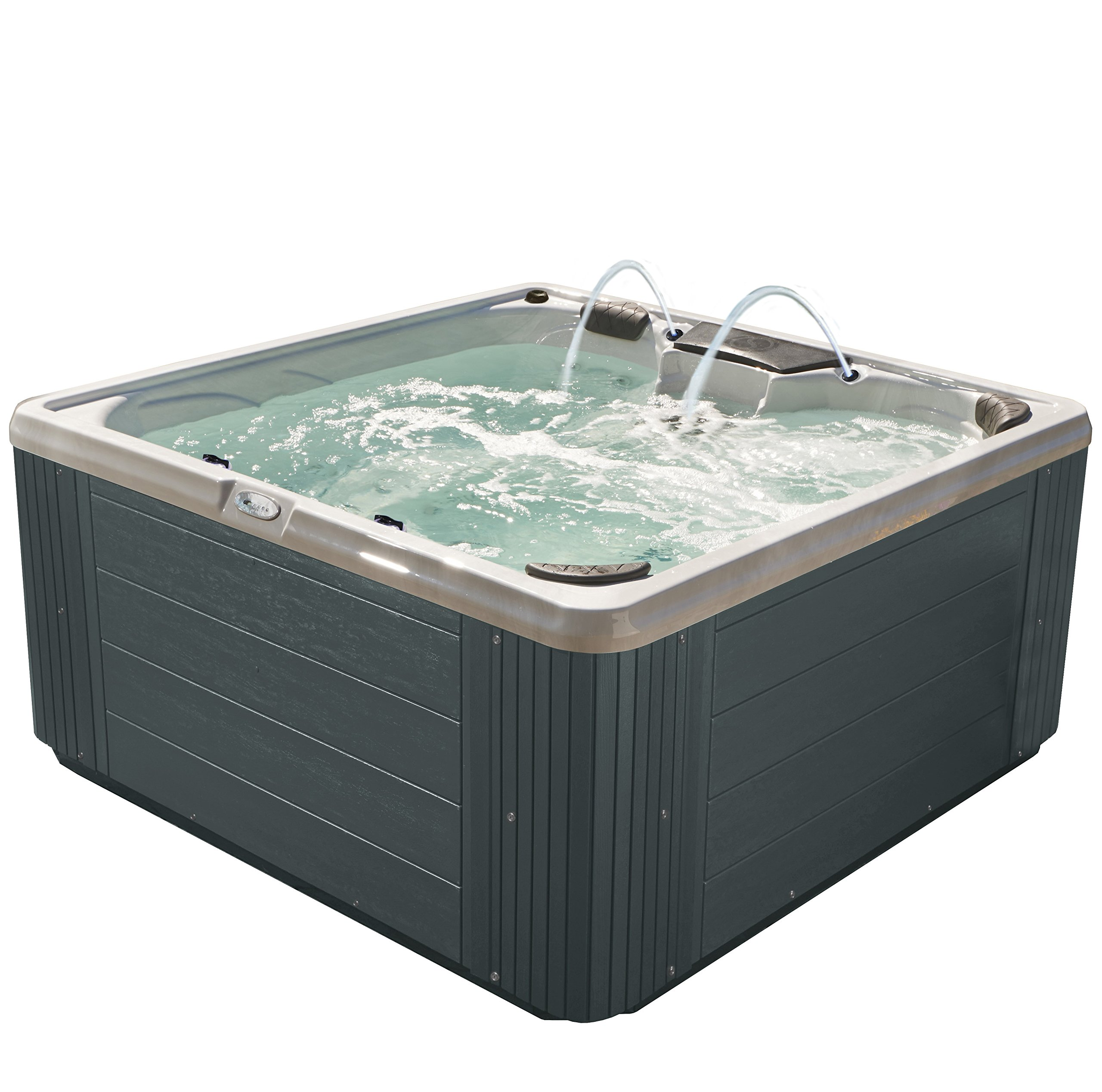 Essential Hot Tubs - Adelaide 30 Jet Confer Grey/Sterling Silver by Essential Hot Tubs (Image #1)