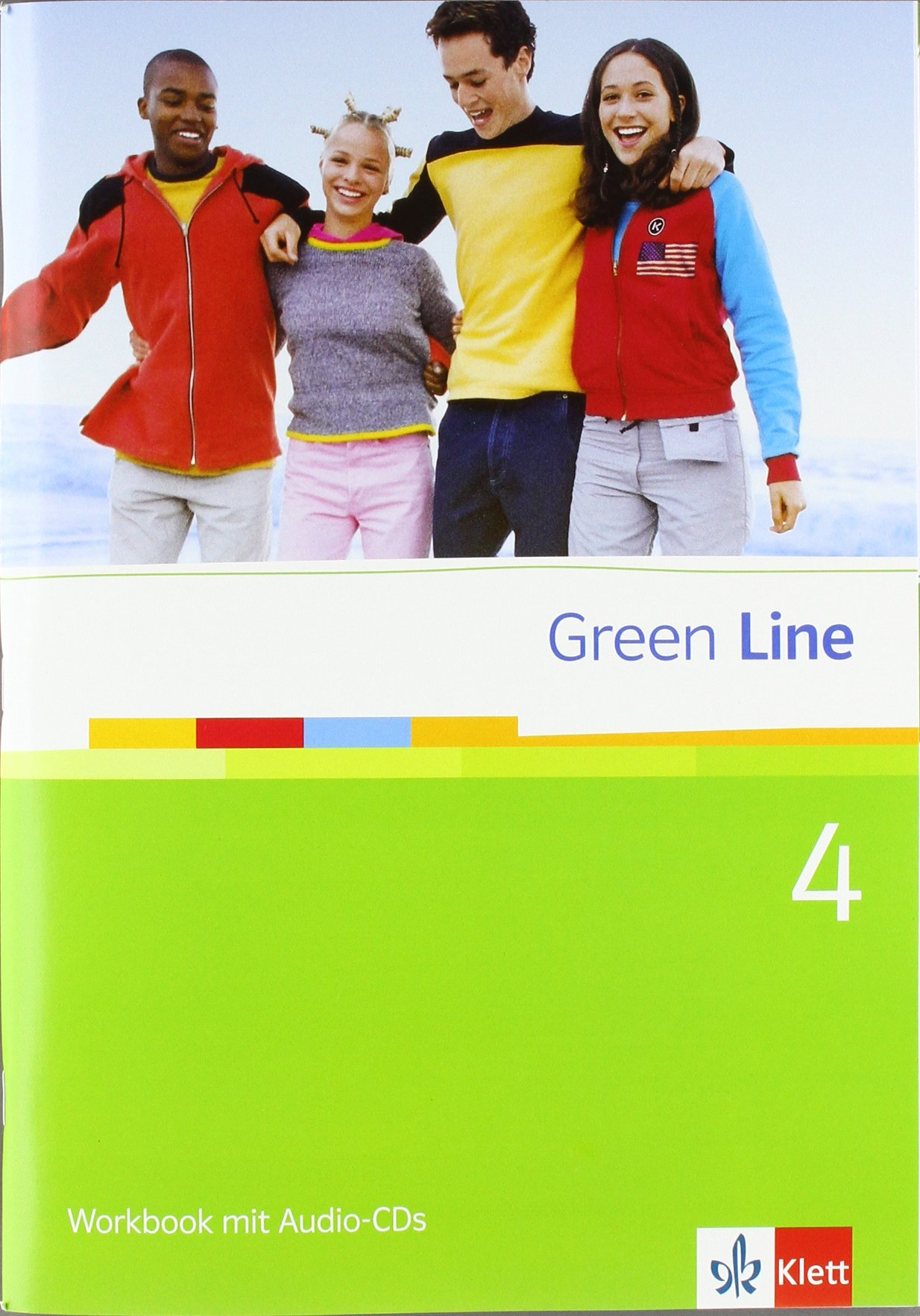 Green Line 4: Workbook 4 + Audio-CD Klasse 8 (Green Line. Bundesausgabe ab 2006)