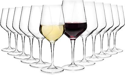 aus Kristallglas Weingläser Set Weinglas Rotweinglas und Weißweinglas Rotwein