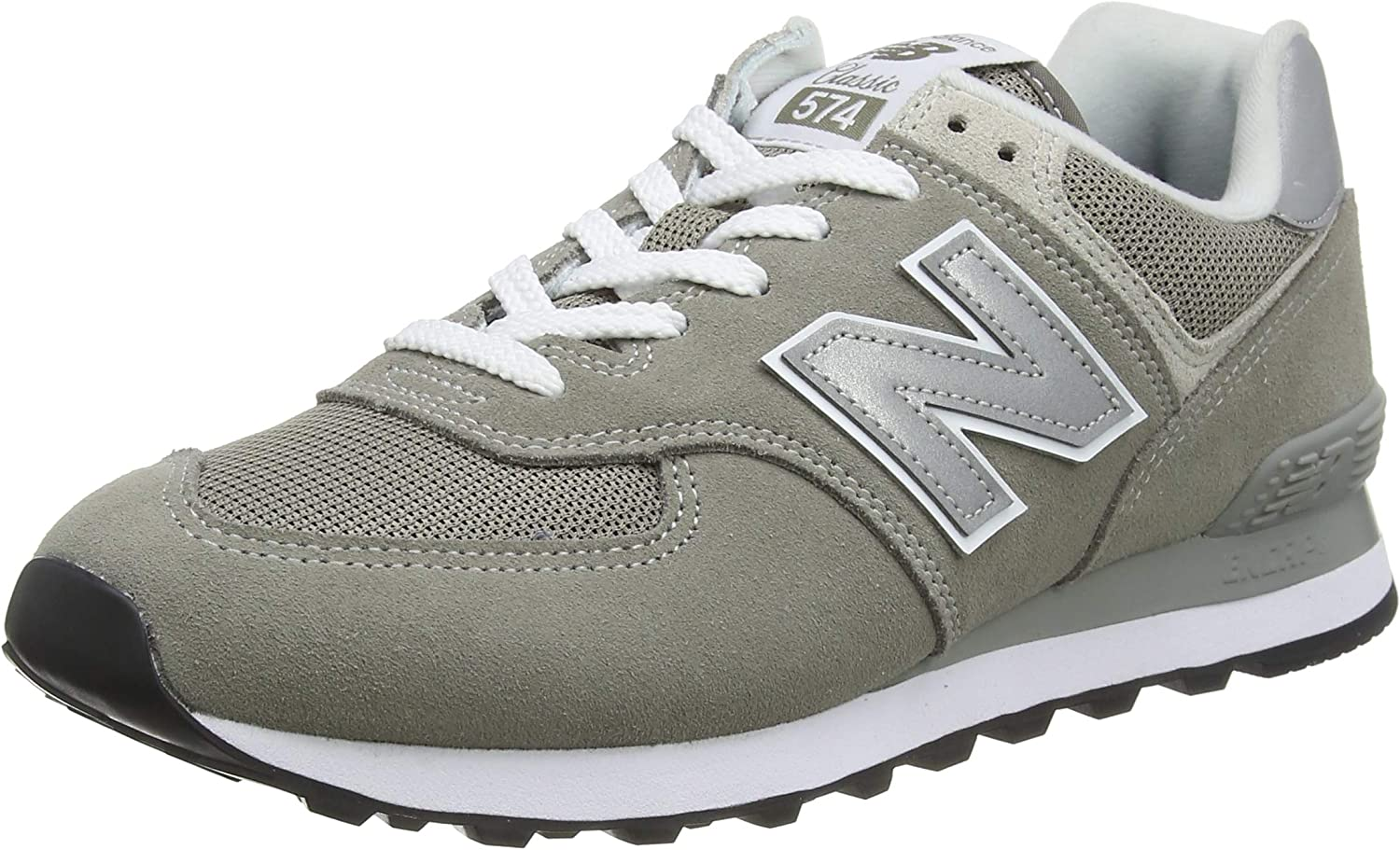 New Balance Mens 574 Core Grey Suede