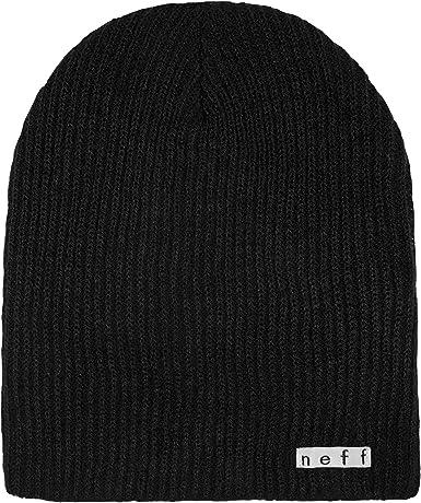 Neff Unisex Daily Beanie Warm Slouchy Soft Headwear GREY One Size Mens Hat