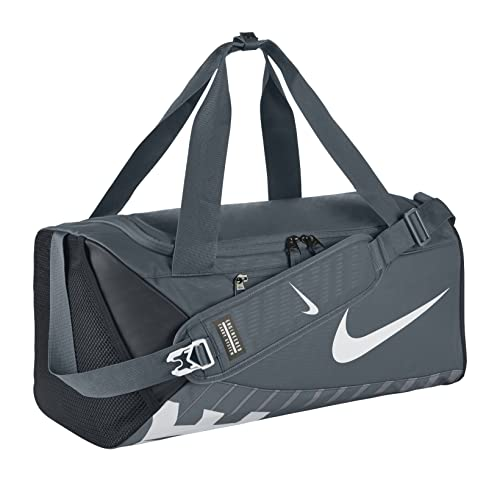 6fd52b50d4c1 Amazon.com  Nike New Alpha Adapt Crossbody (Small) Duffel Bag Flint Grey  Black White  Sports   Outdoors