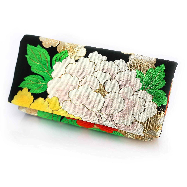 japanese obi kimono vintage pouch bag