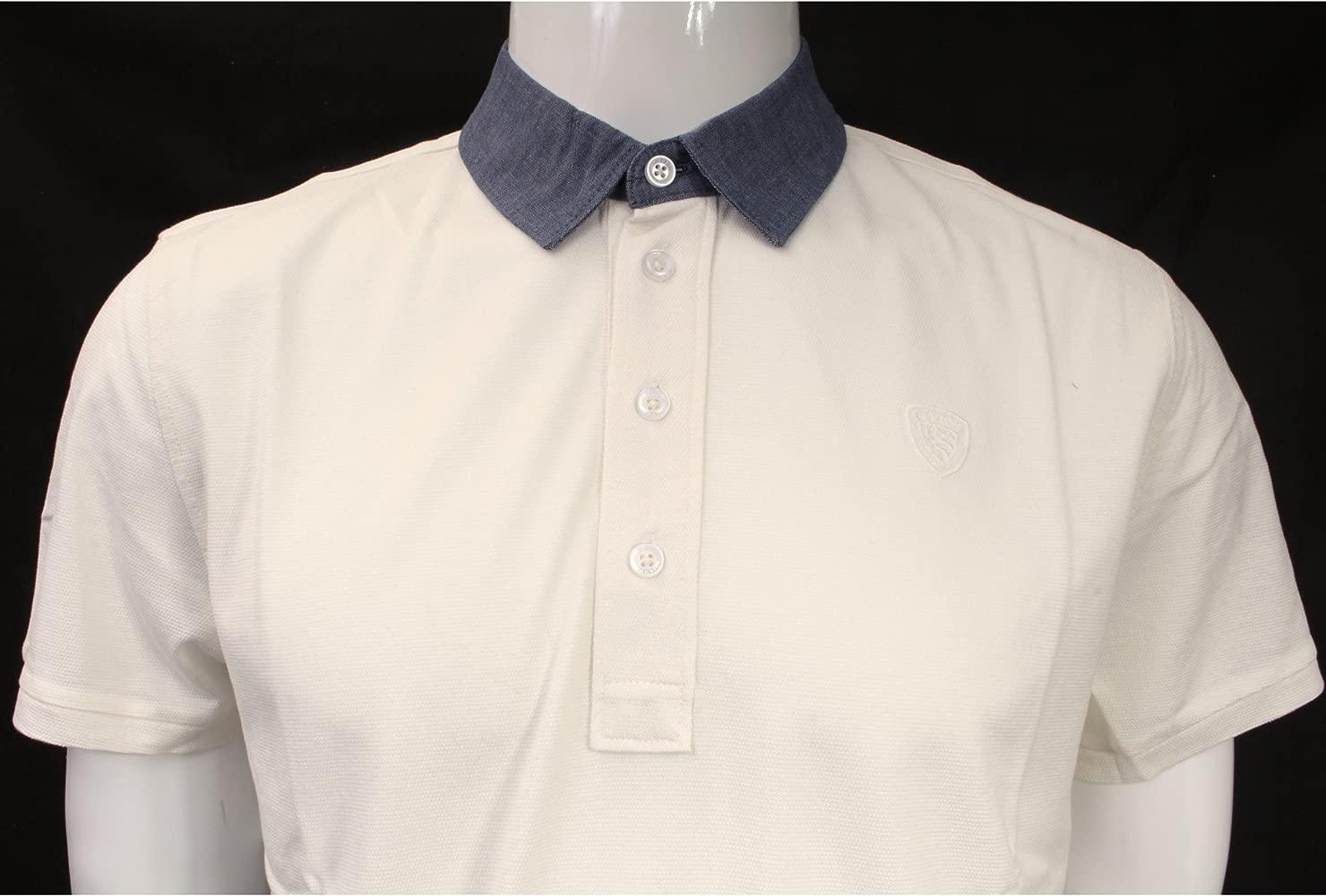 BLAUER U - Camiseta - para hombre Panna-Cream S: Amazon.es: Ropa y ...