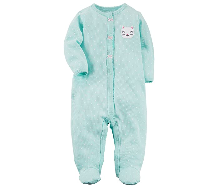 0fd8c5c58d40 Amazon.com  Carter s Baby Girls  Bunny Snap up Cotton Sleep   Play ...