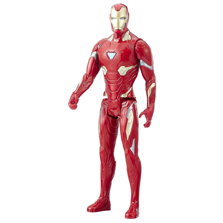 Avengers E1410EL2Marvel Infinity War Series Iron Man con Titan Hero Power FX Port Figure Hasbro