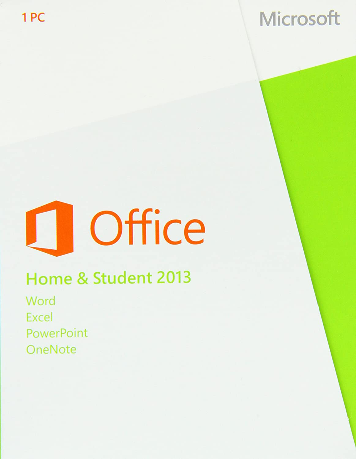 Microsoft Office Home and Student 2013, License Card, 1 User (PC ...
