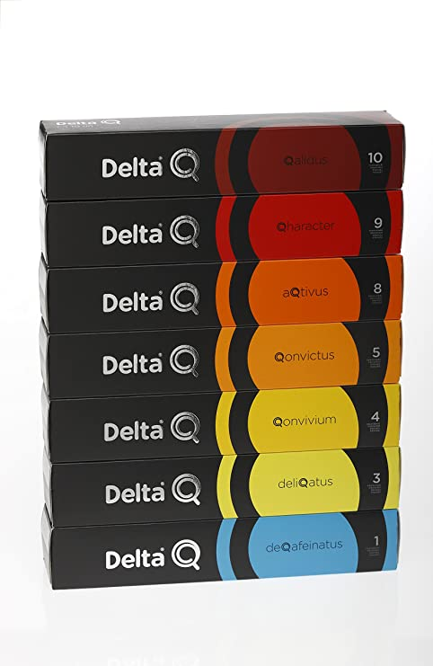 SELECCION DELTA Q BASICO/BLEND - 70 CAPSULAS - QALIDUS-QARACTER-AQTIVUS-QONVICTUS-QONVIVIUM-DELIQATUS-DEQAFEINATUS