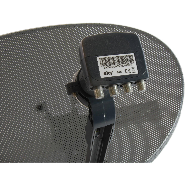 Satgear Sky Freesat Zone 1 Satellite Hd Mini Dish Kit Network Lnb Wiring Diagram Electronics