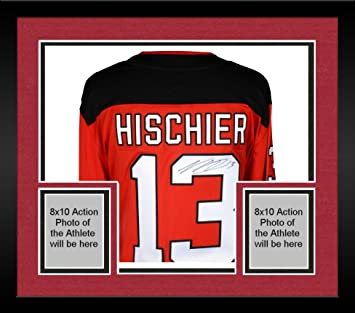 Framed Nico Hischier New Jersey Devils Autographed Red Fanatics Breakaway  Jersey - Fanatics Authentic Certified 4368fee2d