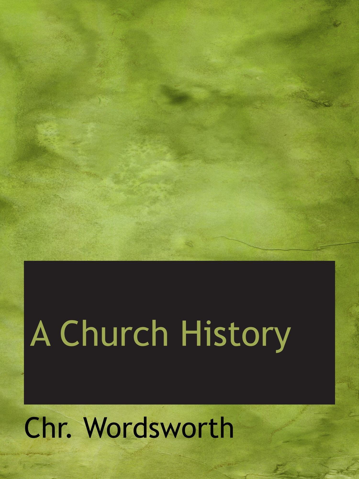 Download A Church History pdf epub